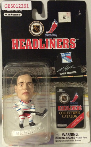 (TAS032203) - 1997 Corinthian NHL Hockey Headliners Figure - Mark Messier, , Action Figure, NHL, The Angry Spider Vintage Toys & Collectibles Store