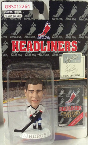 (TAS032206) - 1996 Corinthian NHL Hockey Headliners Figure - Eric Lindros, , Action Figure, NHL, The Angry Spider Vintage Toys & Collectibles Store