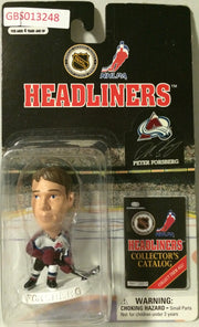 (TAS032209) - 1997 Corinthian NHL Hockey Headliners Figure - Peter Forsberg, , Action Figure, NHL, The Angry Spider Vintage Toys & Collectibles Store