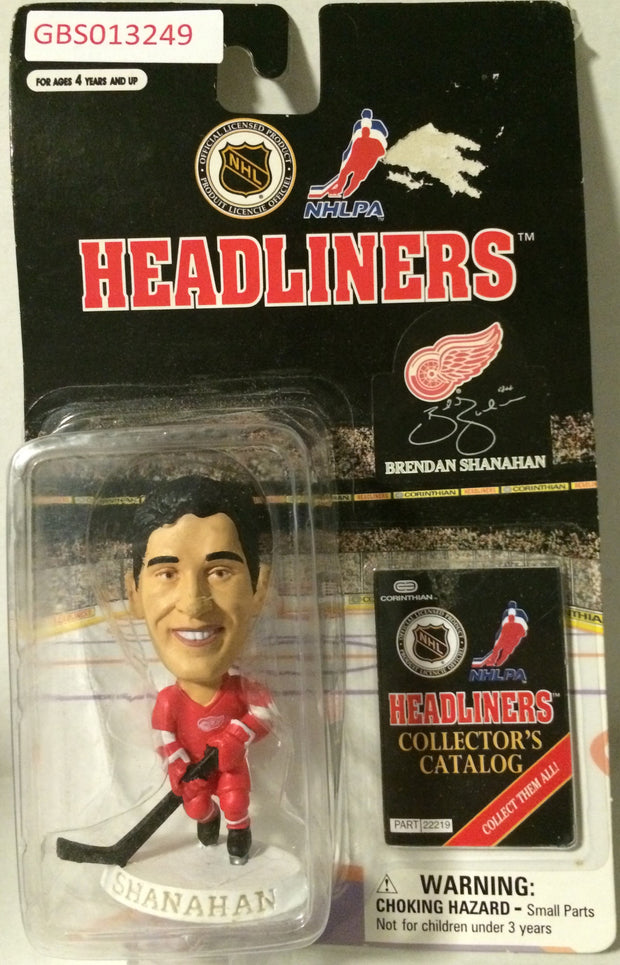 (TAS032210) - 1997 Corinthian NHL Hockey Headliners Figure - Brendan Shanahan, , Action Figure, NHL, The Angry Spider Vintage Toys & Collectibles Store