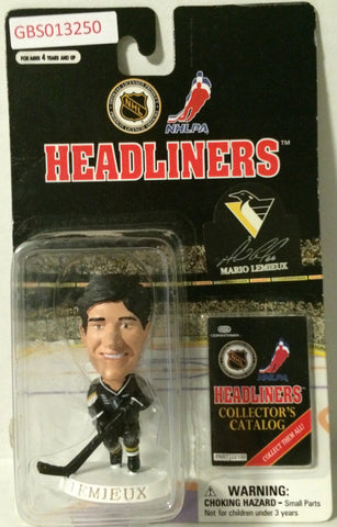 (TAS032211) - 1997 Corinthian NHL Hockey Headliners Figure - Mario Lemieux, , Action Figure, NHL, The Angry Spider Vintage Toys & Collectibles Store