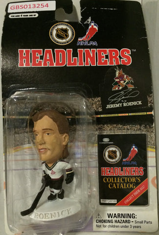 (TAS032215) - 1997 Corinthian NHL Hockey Headliners Figure -Jeremy Roenick, , Action Figure, NHL, The Angry Spider Vintage Toys & Collectibles Store