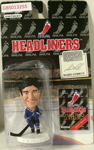 (TAS032216) - 1996 Corinthian NHL Hockey Headliners Figure - Mario Lemieux, , Action Figure, NHL, The Angry Spider Vintage Toys & Collectibles Store