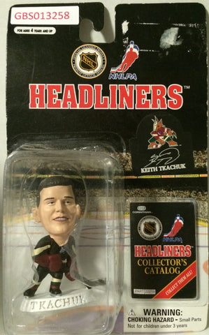 (TAS032219) - 1997 Corinthian NHL Hockey Headliners Figure - Keith Tkachuk, , Action Figure, NHL, The Angry Spider Vintage Toys & Collectibles Store