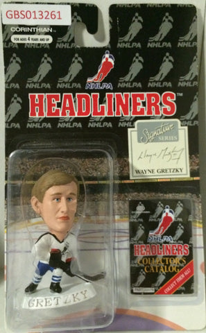 (TAS032222) - 1996 Corinthian NHL Hockey Headliners Figure - Wayne Gretzky, , Action Figure, NHL, The Angry Spider Vintage Toys & Collectibles Store