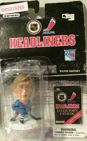 (TAS032226) - 1997 Corinthian NHL Hockey Headliners Figure - Wayne Gretzky, , Action Figure, NHL, The Angry Spider Vintage Toys & Collectibles Store