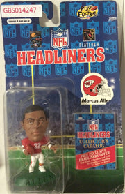 (TAS032227) - 1996 Corinthian NFL Football Headliners Figure - Marcus Allen, , Action Figure, NFL, The Angry Spider Vintage Toys & Collectibles Store