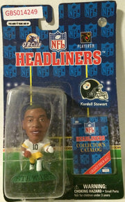 (TAS032229) - 1996 Corinthian NFL Football Headliners Figure - Kordell Stewart, , Action Figure, NFL, The Angry Spider Vintage Toys & Collectibles Store