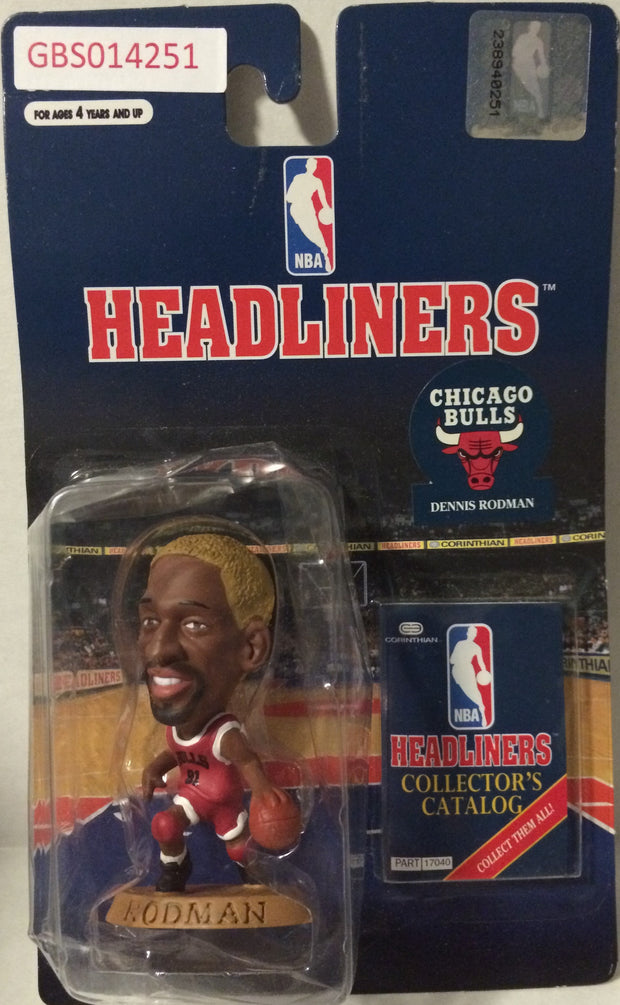 (TAS032231) - 1996 Corinthian NBA Basketball Headliners Figure - Dennis Rodman, , Action Figure, NBA, The Angry Spider Vintage Toys & Collectibles Store
