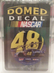 (TAS032253) - 2007 Wincraft NASCAR Domed Decal - Jimmie Johnson #48, , Nascar, Wrestling, The Angry Spider Vintage Toys & Collectibles Store