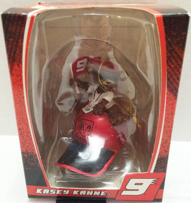 (TAS032277) - Trevco Nascar Racing Holiday Christmas Ornament - Kasey Kahne #9, , Ornament, Nascar, The Angry Spider Vintage Toys & Collectibles Store