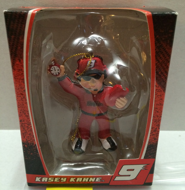 (TAS032279) - Trevco Nascar Christmas Pit Crew Ornament - Kasey Kahne #9, , Ornament, Nascar, The Angry Spider Vintage Toys & Collectibles Store