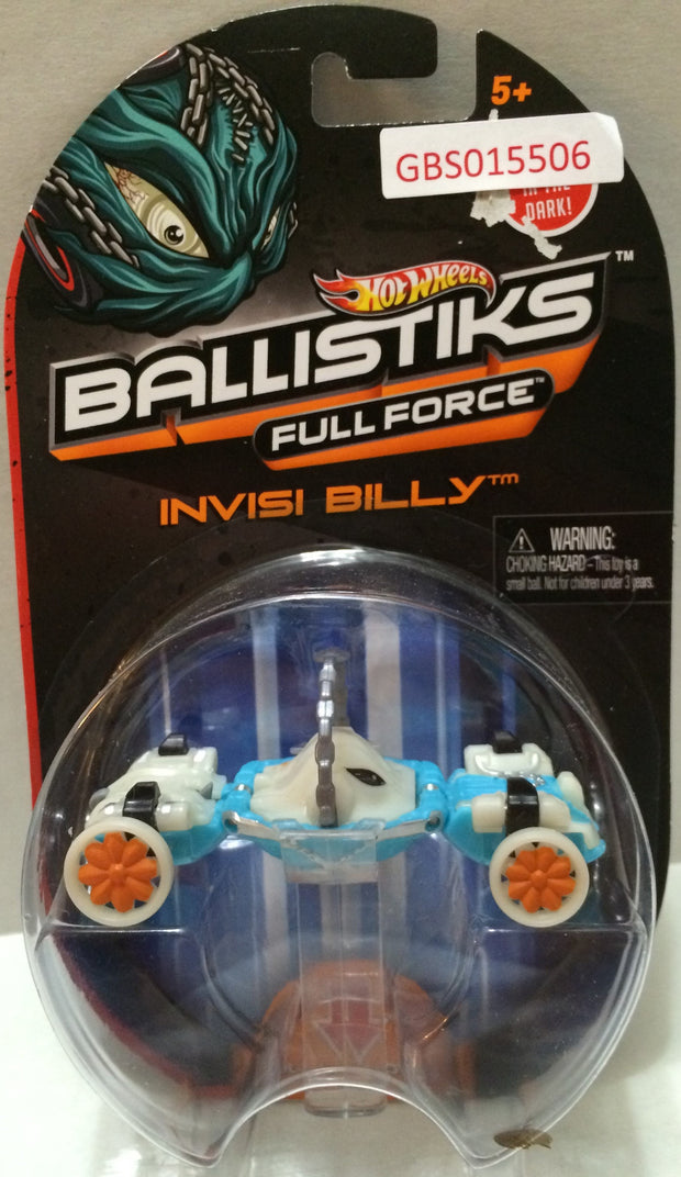 (TAS032305) - 2013 Mattel Hot Wheels Ballistiks Full Force Invisi Billy Toy Car, , Trucks & Cars, Hot Wheels, The Angry Spider Vintage Toys & Collectibles Store