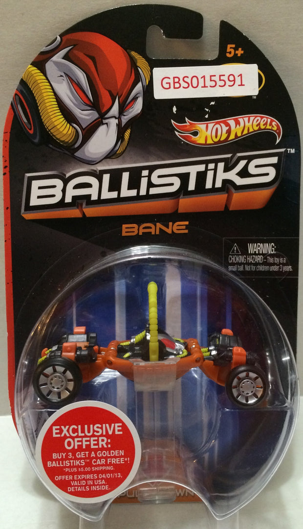 (TAS032307) - 2013 Mattel Hot Wheels Ballistiks Bane Toy Car, , Trucks & Cars, Hot Wheels, The Angry Spider Vintage Toys & Collectibles Store