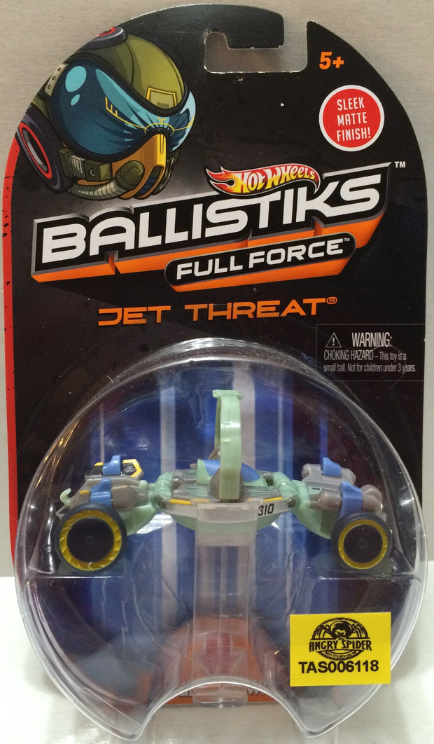 (TAS032310) - 2013 Mattel Hot Wheels Ballistiks Full Force Jet Threat, , Trucks & Cars, Hot Wheels, The Angry Spider Vintage Toys & Collectibles Store