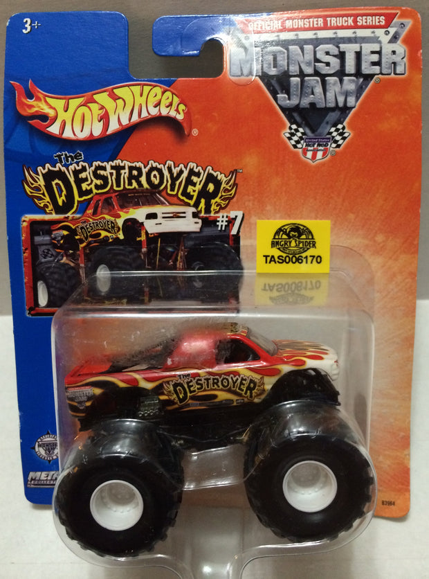 (TAS032312) - 2013 Mattel Hot Wheels Monster Jam The Destroyer Die-Cast Truck, , Trucks & Cars, Hot Wheels, The Angry Spider Vintage Toys & Collectibles Store