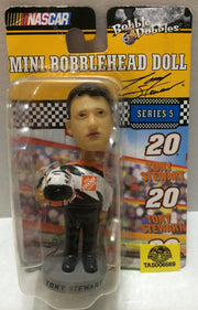 (TAS032324) - Nascar Bobble Dobbles Mini Bobble Head - Tony Stewart #20, , Bobblehead, Nascar, The Angry Spider Vintage Toys & Collectibles Store