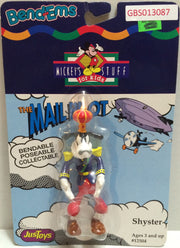 (TAS032332) - Just Toys Bend-ems Mickey's Stuff for Kids The Mail Pilot Shyster, , Action Figure, Disney, The Angry Spider Vintage Toys & Collectibles Store