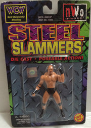 (TAS032346) - 1999 Toy Biz WCW Steel Slammers Die Cast - Goldberg, , Action Figure, Wrestling, The Angry Spider Vintage Toys & Collectibles Store