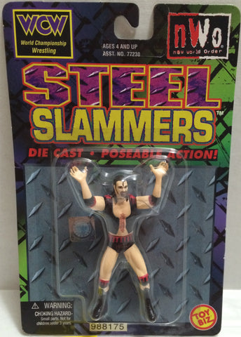 (TAS032349) - 1999 Toy Biz nWo Wrestling Steel Slammers Die Cast Figure - Hall, , Action Figure, Wrestling, The Angry Spider Vintage Toys & Collectibles Store