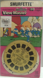 (TAS032352) - 1982 Hasbro View-Master 3D Pictures Reels - Smurfette, , Other, The Smurfs, The Angry Spider Vintage Toys & Collectibles Store