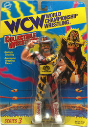 "(TAS032356) - 1994 OSFTM WCW Wrestler Series 3 - ""Macho man"" Randy Savage, , Action Figure, Wrestling, The Angry Spider Vintage Toys & Collectibles Store"