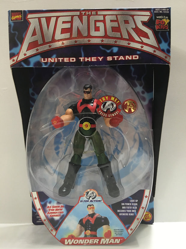 (TAS032359) - 1999 Toy Biz Marvel - The Avengers - Wonder Man, , Action Figure, Marvel, The Angry Spider Vintage Toys & Collectibles Store  - 1