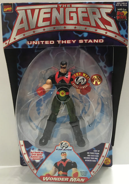 (TAS032360) - 1999 Toy Biz Marvel - The Avengers - Wonder Man, , Action Figure, Marvel, The Angry Spider Vintage Toys & Collectibles Store  - 1