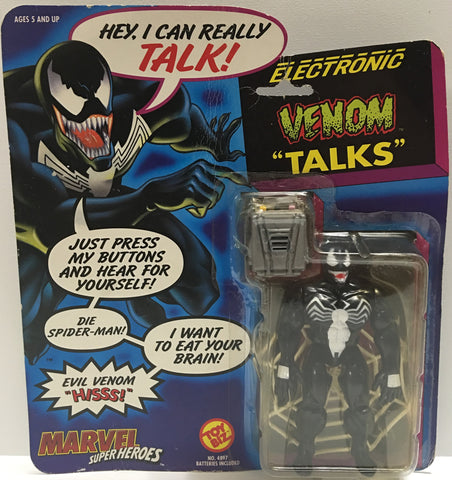 "(TAS032368) - 1991 Toy Biz Marvel Super Heroes - Electronic Venom ""Talks"", , Action Figure, Marvel, The Angry Spider Vintage Toys & Collectibles Store  - 1"
