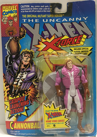 (TAS032370) - 1993 Toy Biz Marvel - The Uncanny X-Men X-Force - Cannonball, , Action Figure, Marvel, The Angry Spider Vintage Toys & Collectibles Store  - 1