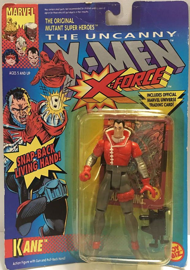 (TAS032371) - 1992 Toy Biz Marvel - The Uncanny X-Men X-Force - Kane, , Action Figure, Marvel, The Angry Spider Vintage Toys & Collectibles Store  - 1