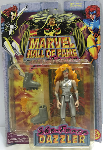 (TAS032374) - 1997 Toy Biz Marvel Hall Of Fame - She-Force Dazzler, , Action Figure, Marvel, The Angry Spider Vintage Toys & Collectibles Store  - 1