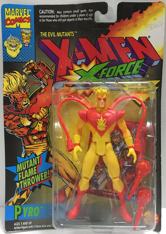 (TAS032375) - 1994 Toy Biz Marvel X-Men - The Evil Mutants - Pyro, , Action Figure, Marvel, The Angry Spider Vintage Toys & Collectibles Store  - 1