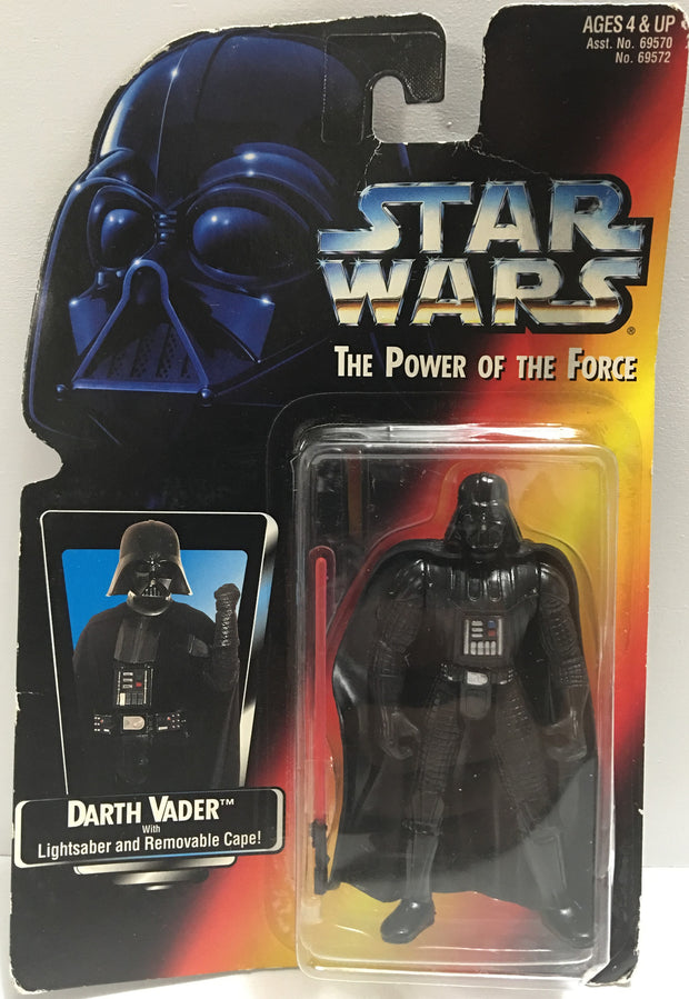 (TAS032381) - 1995 Kenner Star Wars The Power Of The Force - Darth Vader, , Action Figure, Star Wars, The Angry Spider Vintage Toys & Collectibles Store  - 1