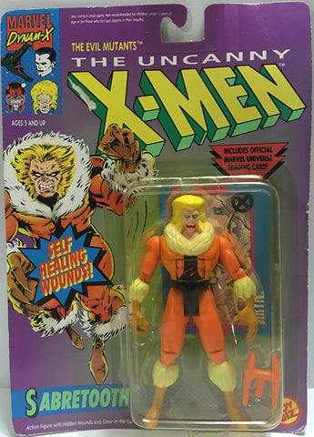 (TAS032383) - 1992 Toy Biz Marvel X-Men - The Evil Mutants - Sabretooth, , Action Figure, Marvel, The Angry Spider Vintage Toys & Collectibles Store  - 1