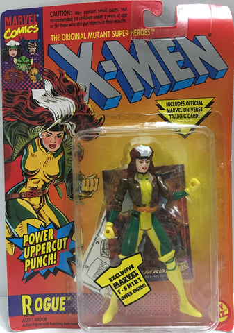 (TAS032384) - 1994 Toy Biz Marvel X-Men - Power Uppercut Punch! - Rogue, , Action Figure, Marvel, The Angry Spider Vintage Toys & Collectibles Store  - 1