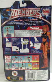 (TAS032386) - 1999 Toy Biz The Avengers United They Stand - Tigra, , Action Figure, Toy Biz, The Angry Spider Vintage Toys & Collectibles Store  - 2