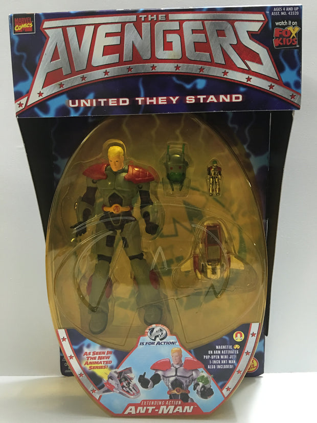 (TAS032387) - 1999 Toy Biz The Avengers United They Stand - Ant-Man, , Action Figure, Toy Biz, The Angry Spider Vintage Toys & Collectibles Store  - 1
