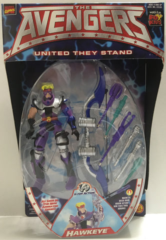 (TAS032391) - 1999 Toy Biz The Avengers United They Stand - Hawkeye, , Action Figure, Toy Biz, The Angry Spider Vintage Toys & Collectibles Store  - 1