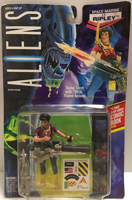 (TAS032395) - 1992 Kenner Aliens Action Figure - Space Marine Lt. Ripley, , Action Figure, Kenner, The Angry Spider Vintage Toys & Collectibles Store  - 1