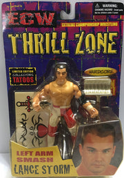 (TAS032397) - 2000 Toymakers ECW Thrill Zone Left Arm Smash - Lance Storm, , Action Figure, Wrestling, The Angry Spider Vintage Toys & Collectibles Store  - 1