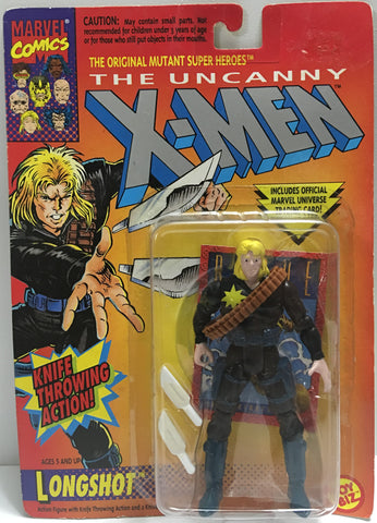 (TAS032403) - 1993 Toy Biz The Uncanny X-Men - Knife Throwing Longshot, , Action Figure, X-Men, The Angry Spider Vintage Toys & Collectibles Store  - 1