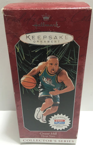 (TAS032408) - Hallmark Keepsake NBA Christmas Ornament - Grant Hill #33, , Ornament, NFL, The Angry Spider Vintage Toys & Collectibles Store  - 1