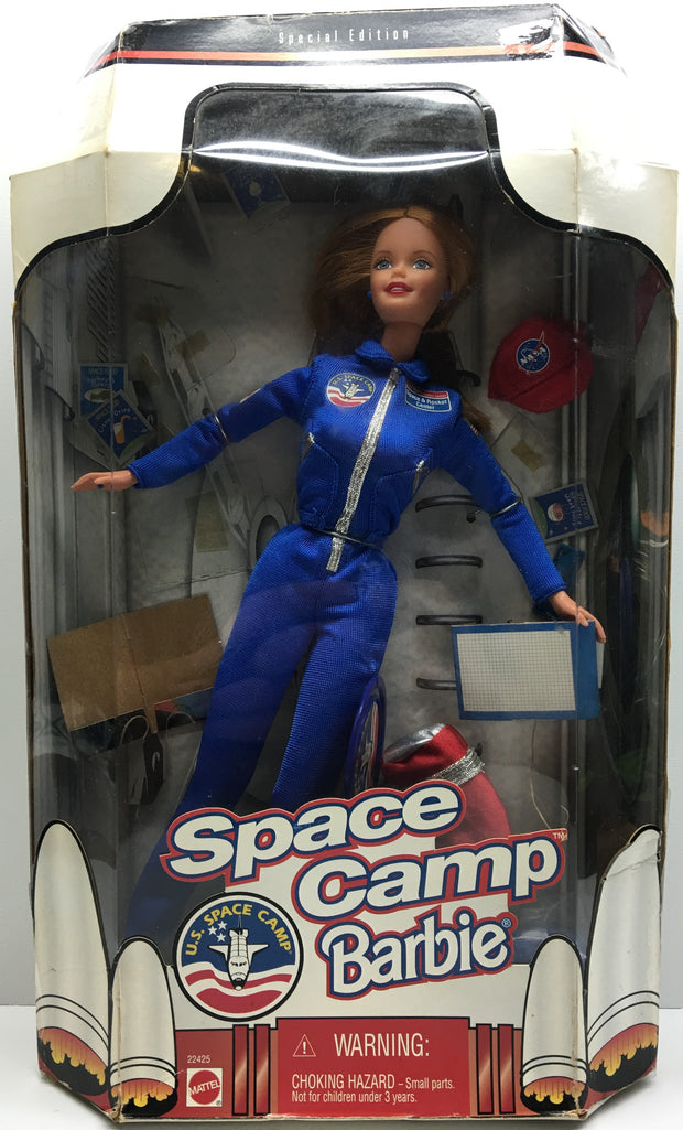 (TAS032417) - 1998 Mattel Special Edition Space Camp Barbie - U.S. Space Camp, , Dolls, Barbie, The Angry Spider Vintage Toys & Collectibles Store  - 1