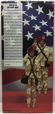 (TAS032418) - 1992 Mattel Special Edition Stars and Stripes Army Barbie, , Dolls, Barbie, The Angry Spider Vintage Toys & Collectibles Store  - 2