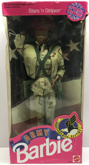 (TAS032418) - 1992 Mattel Special Edition Stars and Stripes Army Barbie, , Dolls, Barbie, The Angry Spider Vintage Toys & Collectibles Store  - 1