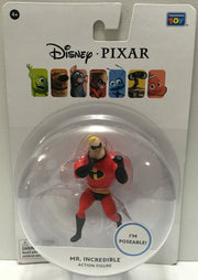(TAS032427) - 2015 Thinkway Toys Disney Pixar Figure - Mr. Incredible, , Action Figure, Disney, The Angry Spider Vintage Toys & Collectibles Store  - 1