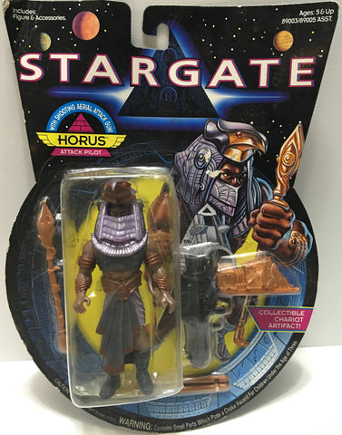 (TAS032440) - 1994 Hasbro Stargate Action Figure - Horus Attack Pilot, , Action Figure, Hasbro, The Angry Spider Vintage Toys & Collectibles Store  - 1