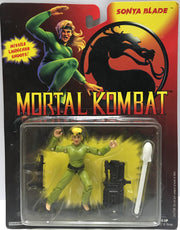(TAS032442) - 1994 Hasbro Mortal Kombat Action Figure - Sonya Blade, , Action Figure, Hasbro, The Angry Spider Vintage Toys & Collectibles Store  - 1
