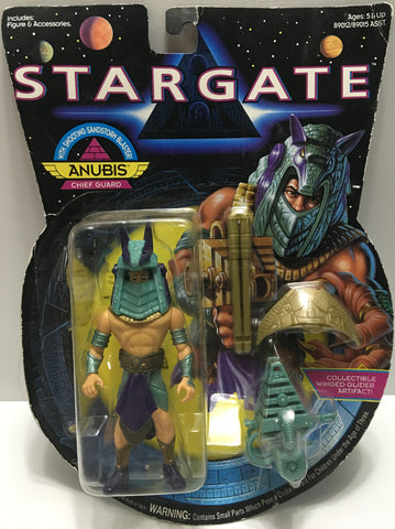 (TAS032445) - 1994 Hasbro Stargate Action Figure - Anubis Chief Guard, , Action Figure, Hasbro, The Angry Spider Vintage Toys & Collectibles Store  - 1